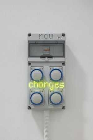 Sentences for a New Order: now changes by Hassan Khan contemporary artwork