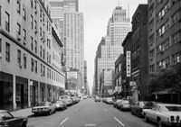 West 56th Street at 8th Avenue, New York 1978 by Thomas Struth contemporary artwork photography