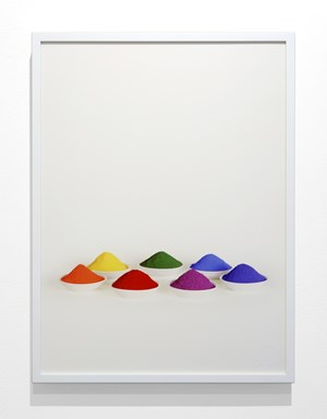 Seven Colors by Sarah Charlesworth contemporary artwork