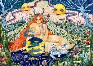 XXI The World by Charlotte Mui Ngo-Suet contemporary artwork
