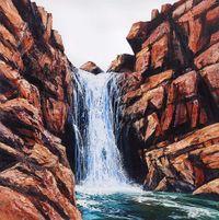 Cascade by Neil Frazer contemporary artwork painting