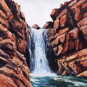 Cascade by Neil Frazer contemporary artwork