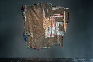 E-Witness by El Anatsui contemporary artwork