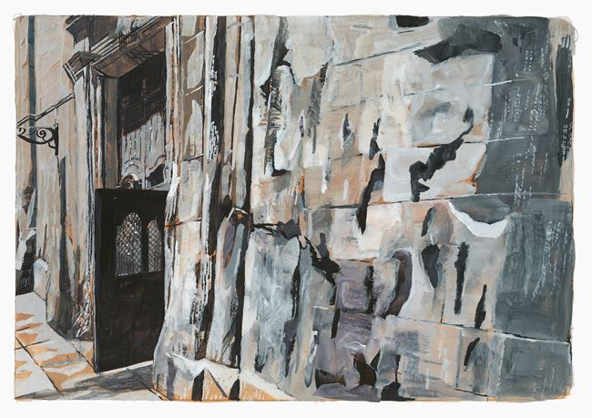 Barcelona, Barri Gòtic by Marc Desgrandchamps contemporary artwork
