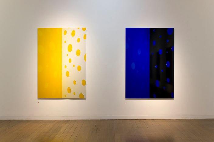 Exhibition view: Jacky Redgate, Light Throw (Mirrors) Fold/Unfold, Arc One Gallery (5 February–9 March 2019). Courtesy Arc One Gallery.