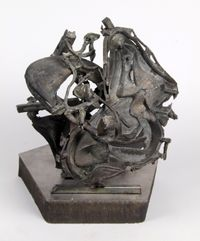 Plombiers-les-Bains, from Spa Sculptures by Frank Stella contemporary artwork sculpture