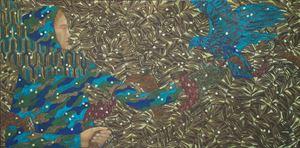 Blue Falcon by Timur D'Vatz contemporary artwork