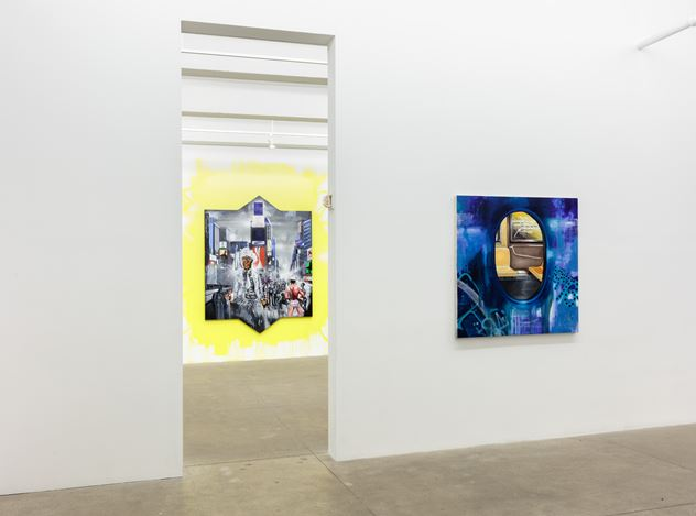 Exhibition view: Chris Daze Ellis,Daily Commute, P.P.O.W. Gallery, New York (15 February–17 March 2018). Courtesy the artist and P.P.O.W. Gallery.