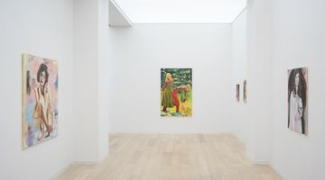 Contemporary art exhibition, Paulina Olowska, 30 Minutes Before Midnight at Simon Lee Gallery, Hong Kong
