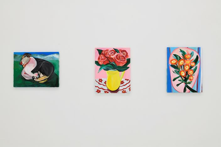 """Exhibition view: Aki Kondo, ShugoArts Online – Exhibition: """"Flowers in the Heart"""" (25 April–30 May 2020). Courtesy ShugoArts."""