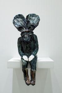 Seated Flower by Klara Kristalova contemporary artwork sculpture, ceramics
