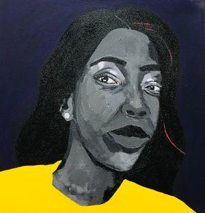 Kusina Hakuendwi by Tafadzwa Adolf Tega contemporary artwork
