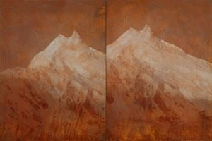 Double Peaks by Kichang Choi contemporary artwork