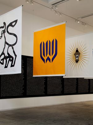 Bankrupt Banks by Superflex contemporary artwork