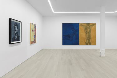 Exhibition view: Group Exhibition, A New Spirit Then, A New Spirit Now, 1981–2018, Almine Rech Gallery, New York(2 May–9 June 2018). Courtesy Almine Rech Gallery.