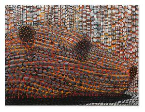 Crash and Burn by Derek Cowie contemporary artwork