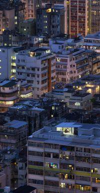 'Mahjong Twilight', Concrete stories, Hong Kong by Romain Jacquet Lagreze contemporary artwork photography, print