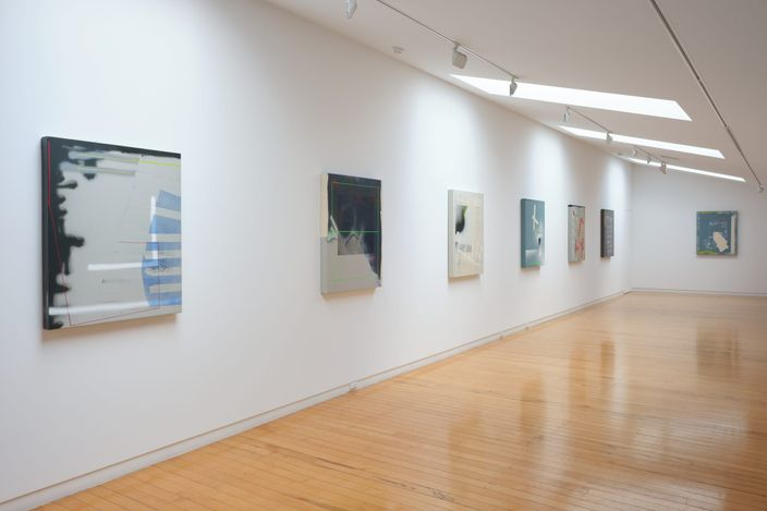 Exhibition view: Tira Walsh, Industry, Two Rooms, Auckland (9 July–7 August 2021). Courtesy Two Rooms.