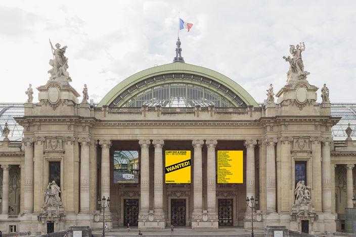 Exhibition view: Group Exhibition, Wanted!, Rmn - Grand Palais, Paris (24–25 October 2020). Courtesy Perrotin.