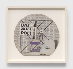 Untitled (One Mill Doll) by Ray Johnson contemporary artwork