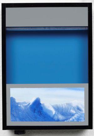 Pocket vacation box - Ultramarine Blue by Naoya Inose contemporary artwork