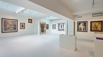 Contemporary art exhibition, Wifredo Lam, Nouveau Nouveau Monde at Galerie Gmurzynska, Zurich