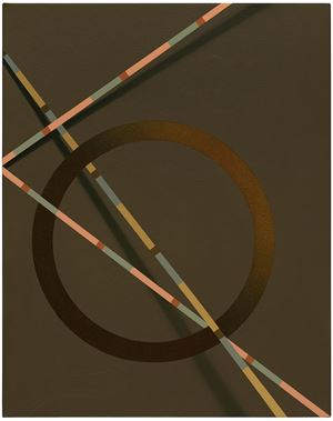 Unno by Tomma Abts contemporary artwork