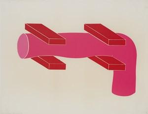 Composition No. 74 by Ion Bitzan contemporary artwork