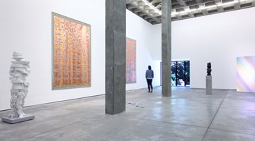 Contemporary art exhibition, Troika, Compression Loss at OMR, Mexico City