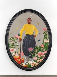 Portrait of Prince Anthony Hall by Kehinde Wiley contemporary artwork painting