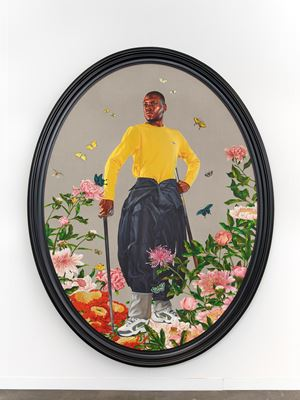 Portrait of Prince Anthony Hall by Kehinde Wiley contemporary artwork