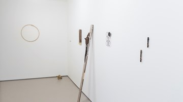 Contemporary art exhibition, Ben Pearce, Milk on Metal at Bartley + Company Art, Wellington