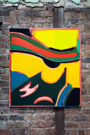 Keyboard of Light by Matt Connors contemporary artwork