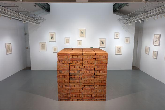 Exhibition view:Bosco Sodi, Terra è stata stabilita,SCAI THE BATHHOUSE, Tokyo (9 March-21 April 2018). Courtesy the artist and SCAI THE BATHHOUSE.Photo: Kei Miyajima.