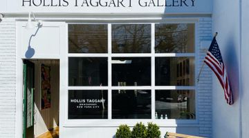 Hollis Taggart contemporary art gallery in Southport, New York, USA