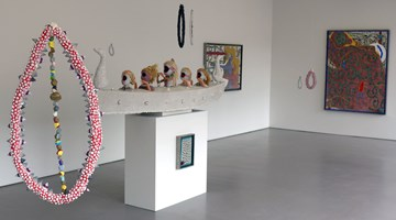 Contemporary art exhibition, Rohan Wealleans, We are the flesh at Hamish McKay, Wellington