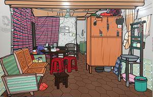 Interior No. 20 by Li Bangyao contemporary artwork