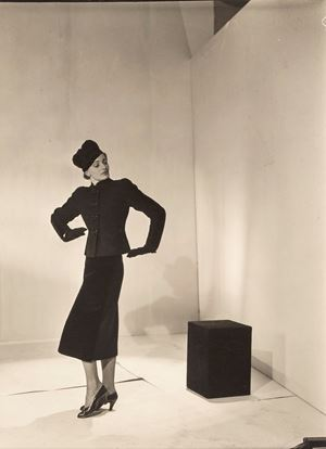 Schiaparelli Model, Paris by Cecil Beaton contemporary artwork