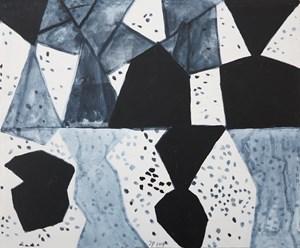 Eccentric Black, #31 by Jürgen Partenheimer contemporary artwork