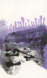 飄蓬飛絮 Floating Water Lilies and Drifting Catkins by Lee Chung-Chung contemporary artwork painting, works on paper, drawing