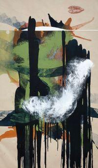 Slip Strike Indicators by Elizabeth Neel contemporary artwork painting