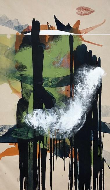 Slip Strike Indicators by Elizabeth Neel contemporary artwork