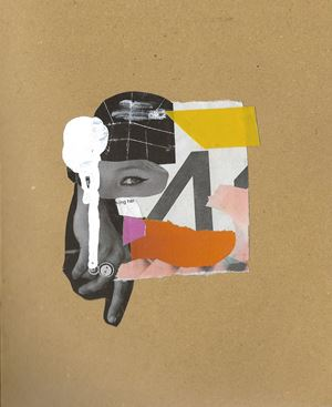 Untitled 06 by Muvindu Binoy contemporary artwork