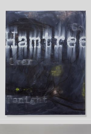 Hamtree by Gary Simmons contemporary artwork