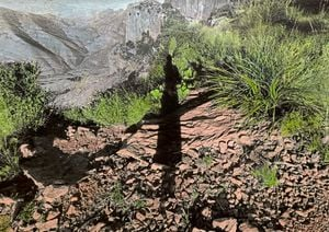 Untitled #23 (from Vistas) by Brea Souders contemporary artwork