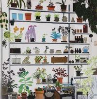 Large Shelf Still Life, by Jonas Wood contemporary artwork print