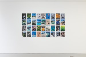 Portraits of the Maldives by Peter Liversidge contemporary artwork mixed media