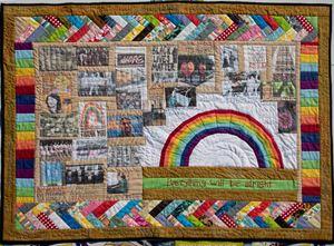 Quilt of Hope by Kamrun Samadi contemporary artwork