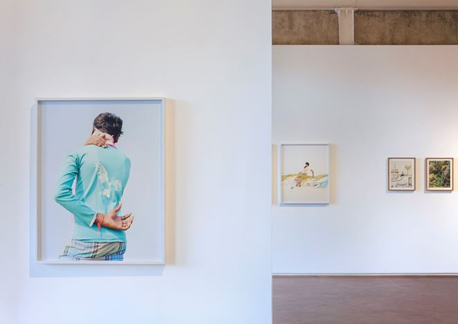 Exhibition view: Vasantha Yogananthan, A Myth of Two Souls,Jhaveri Contemporary (14 March–4 May 2019). Courtesy Jhaveri Contemporary.