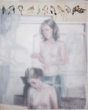 Mirage by Sandra del Pilar contemporary artwork